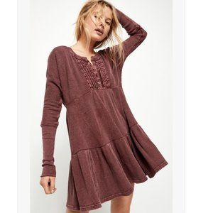 Free People One NEW FP Jolene Long Sleeve Dress S